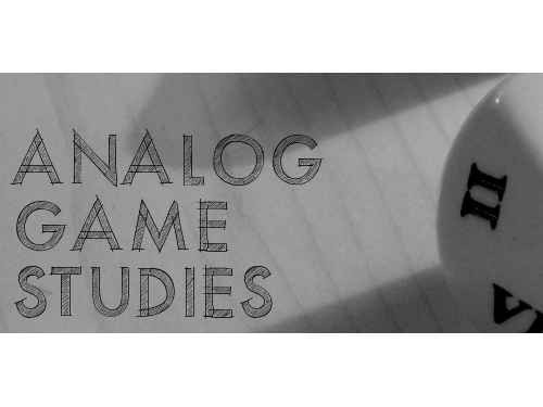 Co-Editor-in-Chief - Analog Game Studies